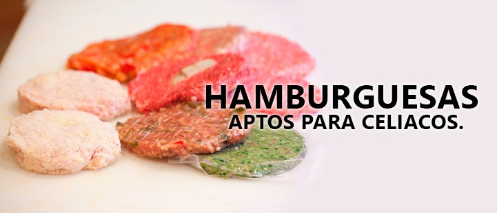 Hamburguesas para celiacos